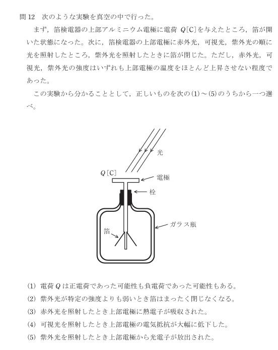 【電検3種(R2年度)】理論科目:問12