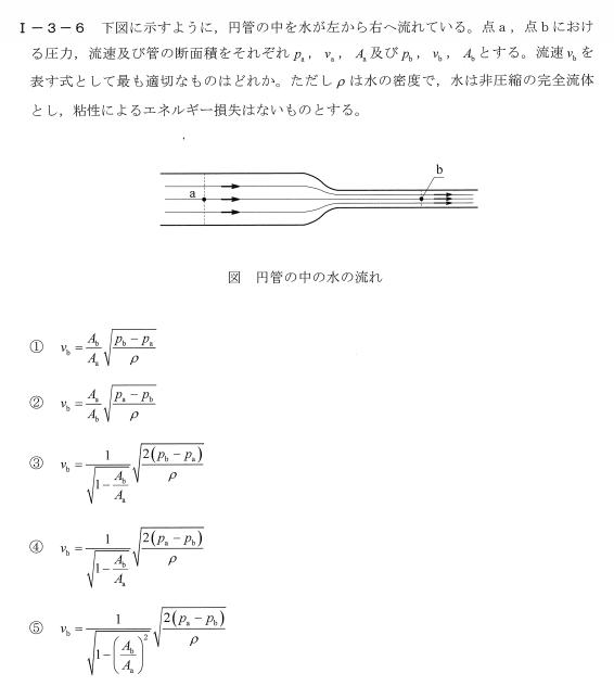 令和2年度技術士第一次試験問題[基礎科目:解析]1-3-6